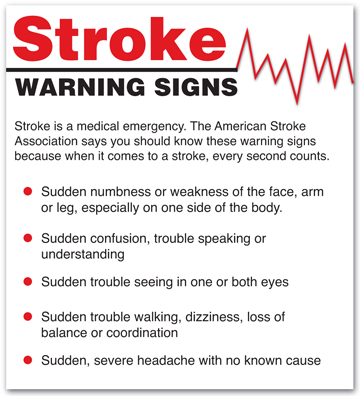 signs and symptoms of ischemic stroke pdf