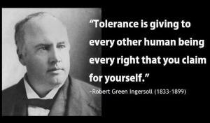 Word of the Day:  Tolerance