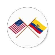 us_and_ecuador_crossed_flags_sticker